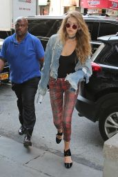 Gigi Hadid in Tights - NYC 9/8/2016