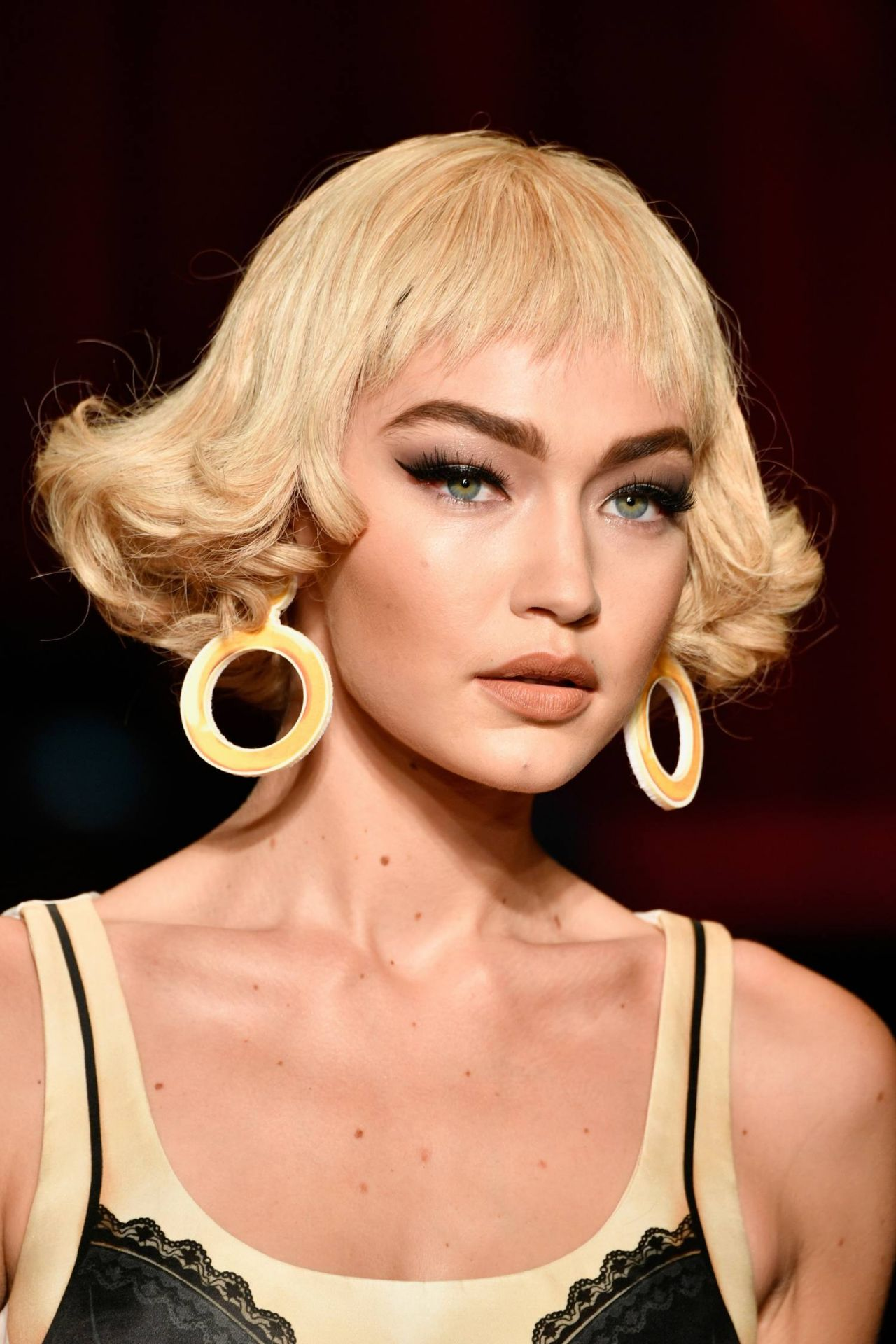 Gigi Hadid Moschino Fashion Show In Milan September 2016