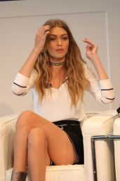 Gigi Hadid - Tommy X Gigi Collection Press Conference in New York City 9/9/2016