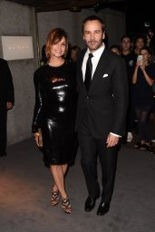 Gina Gershon – Tom Ford Fashion Show – New York Fashion Week, 9/7/2016
