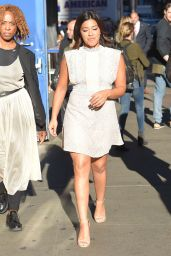 Gina Rodriguez at Good Morning America in New York City 9/25/2016
