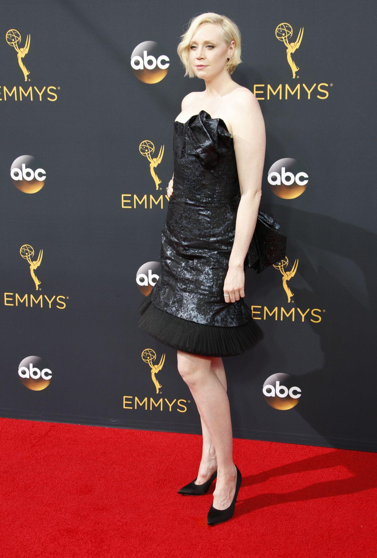 Gwendoline Christie – 68th Annual Emmy Awards in Los ...