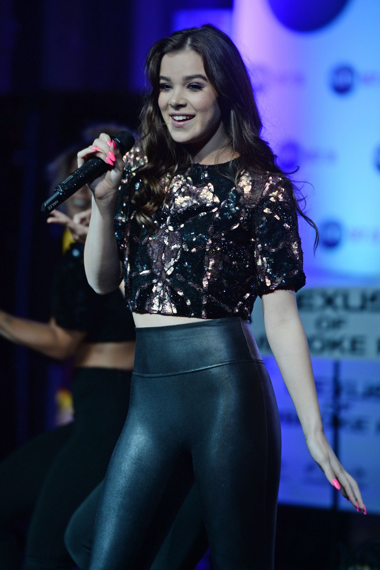 Hailee Steinfeld On The Cover Of Fashion Magazine March: Hits 97.3 Sessions At Revolution In