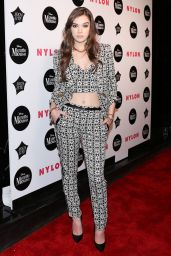 Hailee Steinfeld - Nylon Rebel Fashion Party in New York City 9/8/2016