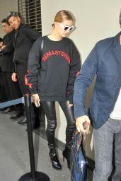 Hailey Baldwin - Arriving at a Fashion Show in Milan 9/25/ 2016