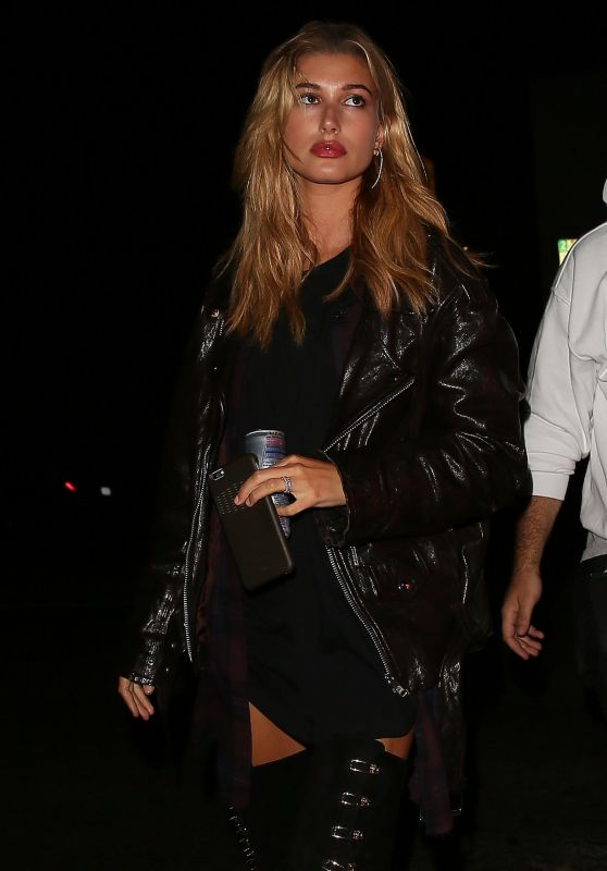 Hailey Baldwin at The Nice Guy in West Hollywood, September 2016