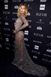 Hailey Baldwin – Harpers Bazaar Icons Party 09/09/2016