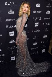 Hailey Baldwin – Harpers Bazaar Icons Party 09/09/2016