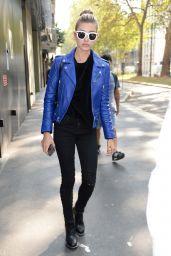 Hailey Baldwin Urban Outfit - Milan, Italy 09/22/2016