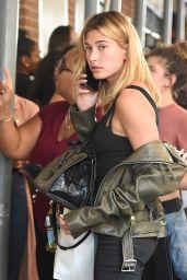 Hailey Baldwin Urban Outfit - New York CIty 9/4/2016