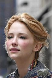 Haley Bennett Street Style - Out in Soho, New York City, September 2016