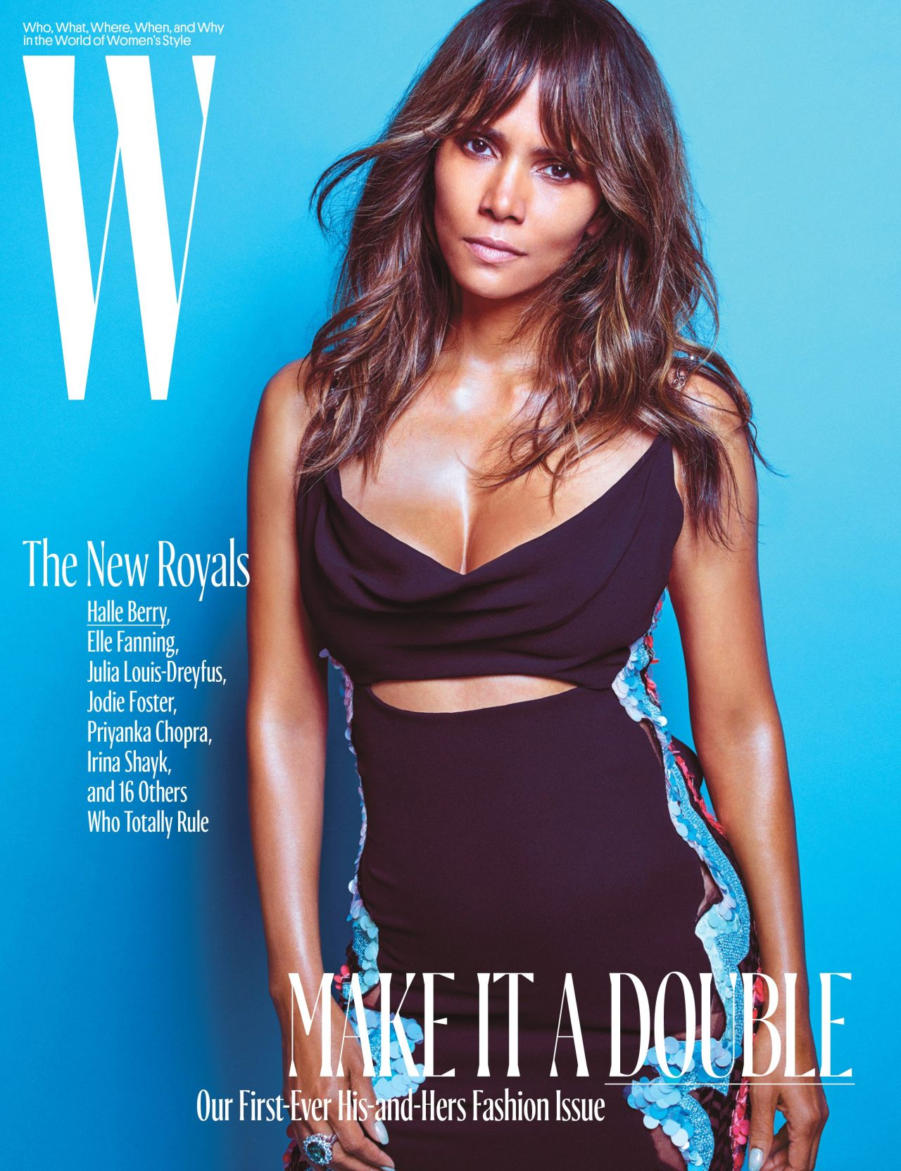 W Magazine October 2016 Cover