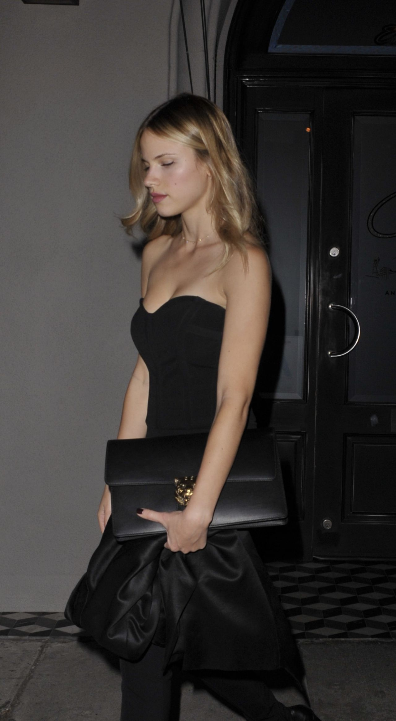 halston sage after dinner at craigs restaurant in west