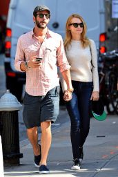 Heather Graham Street Style - Out in NYC 9/26/ 2016