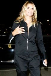 Heidi Klum at LAX Airport 9/7/2016