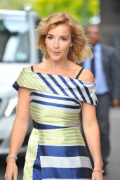 Helen Skelton - After She Had Appeared on the Lorraine Show in London 9/22/2016