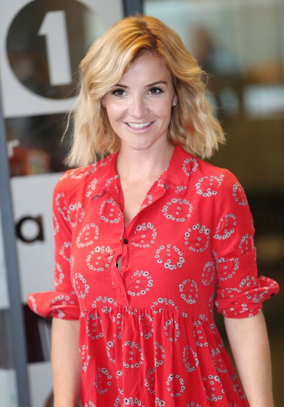 Helen Skelton at the BBC Studios in London 09/22/2016