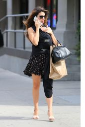 Hilaria Baldwin Style - Out in New York 9/21/2016