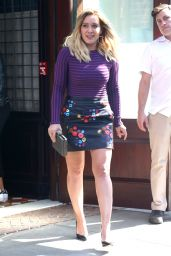 Hilary Duff Leaving the Greenwich Hotel in New York City 9/26/ 2016