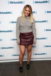 Hilary Duff - SiriusXM Studios in New York 9/27/ 2016
