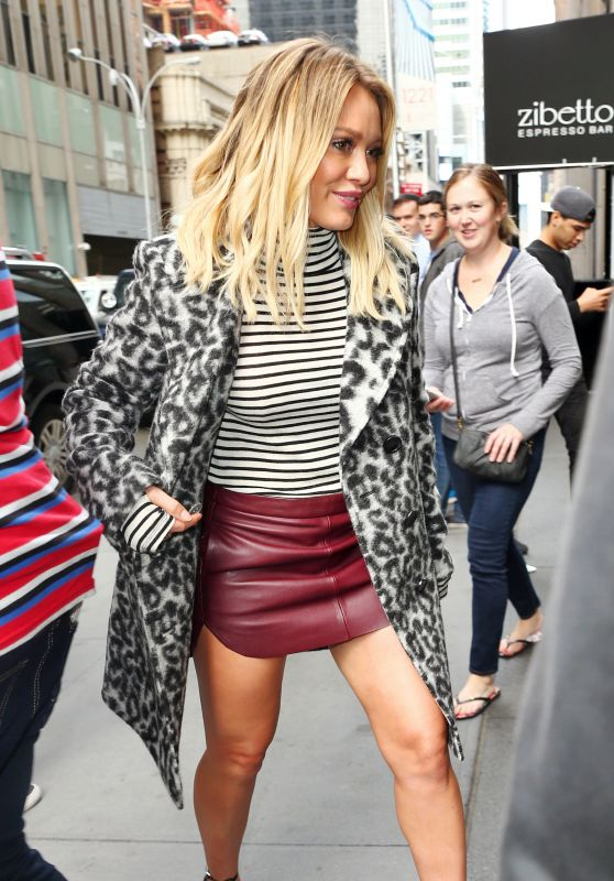 Hilary Duff Style - Out in New York City 9/27/ 2016