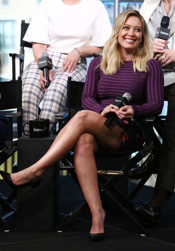Hilary Duff - The Build Series Presents The Cast Of 'Younger' at AOL Studios in NYC 9/26/ 2016