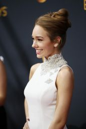 Holly Taylor – 68th Annual Emmy Awards in Los Angeles 09/18/2016