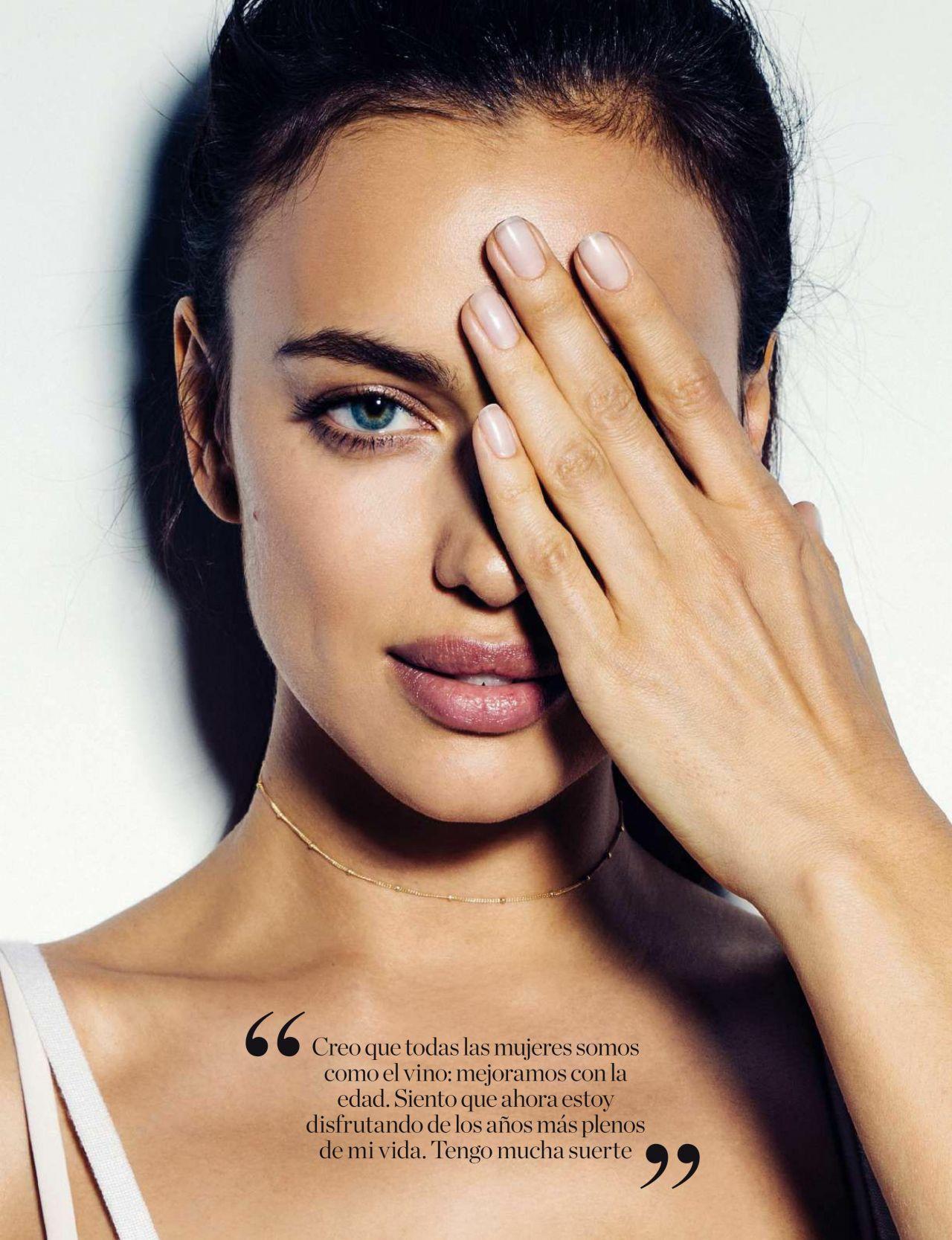 Irina Shayk Elle Magazine Espa A October 2016 Issue