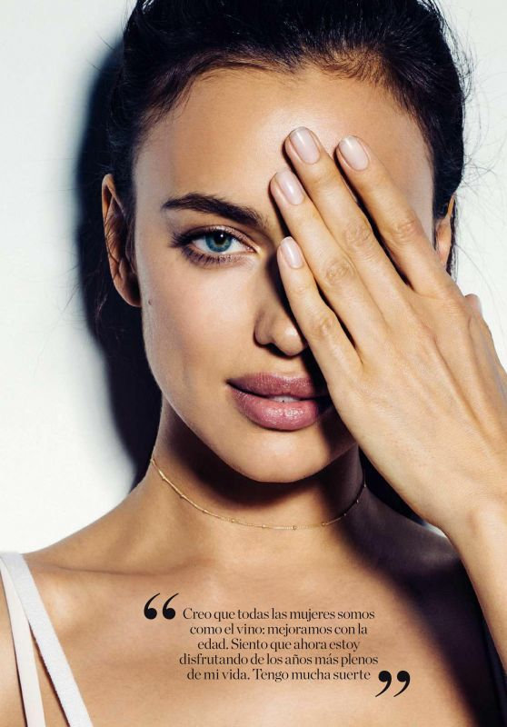 Irina Shayk - Elle Magazine España October 2016 Issue