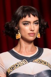 Irina Shayk - Moschino S/S 2017 Show in Milan, September 2016