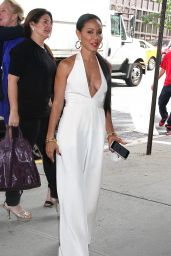 Jada Pinkett Smith Shows Off Her Gold Grillz and Cleavage-