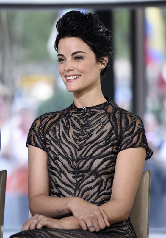 Jaimie Alexander at The Today Show in New York City 9/14/2016