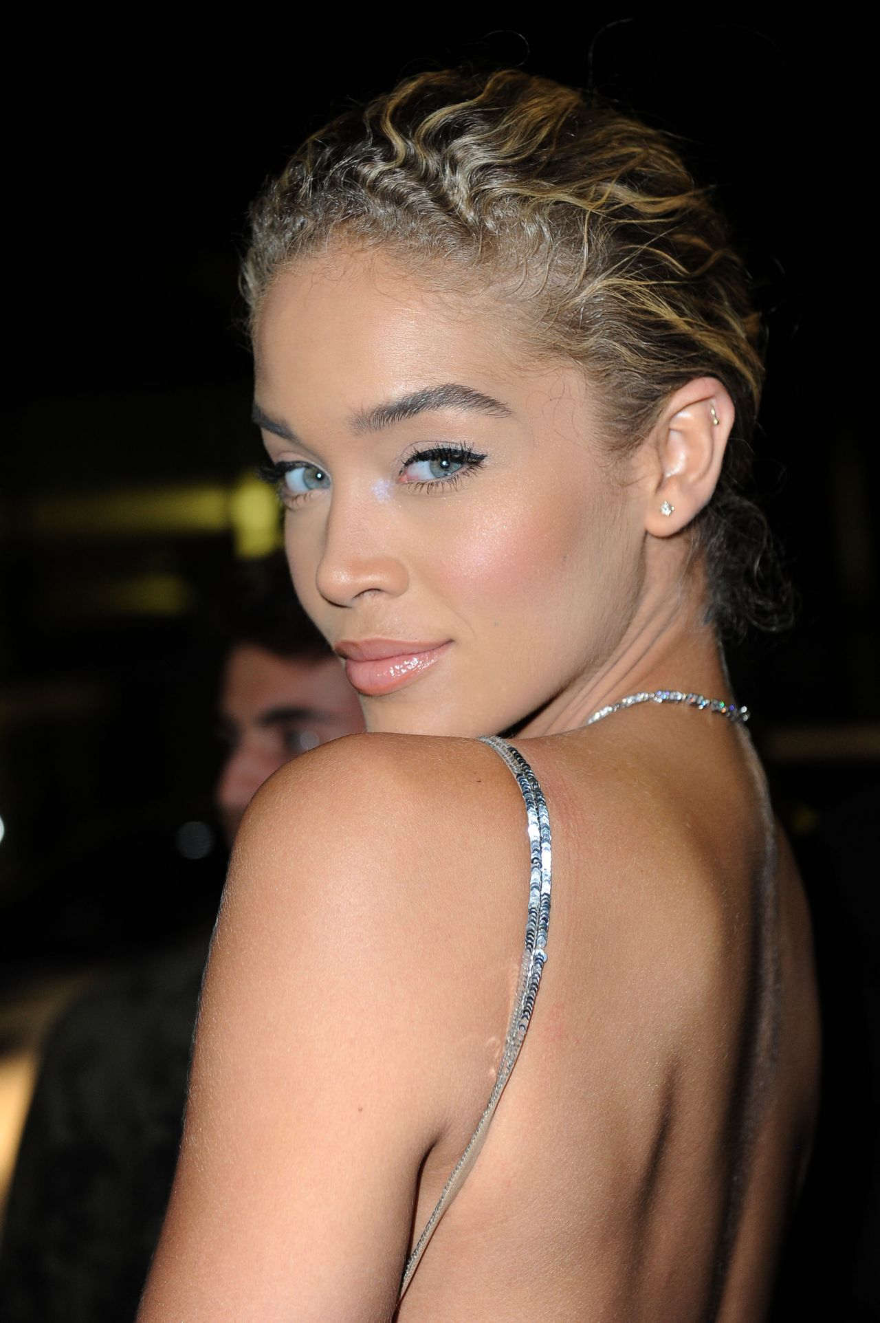 Jasmine Sanders Amfar Milano 2016 At La Permanente In