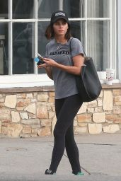 Jenna Dewan in Tights - Leaving a Yoga Class in Studio City 9/12/2016