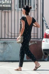 Jenna Dewan Tatum - Out for Lunch at Jumpin