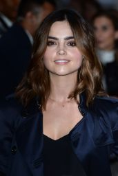 Jenna-Louise Coleman - Burberry Collections 2016/2017 Show - London 9/19/2016