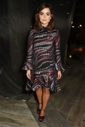 Jenna-Louise Coleman - Erdem Spring/Summer Collections 2017 Show in London 9/19/2016