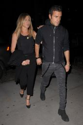 Jennifer Aniston and Justin Theroux - After dining at The Smile Restaurant in NYC 9/24/ 2016