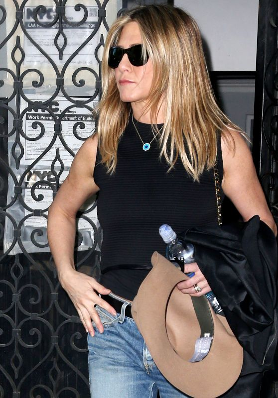 Jennifer Aniston Street Style - Out in New York 09/26/ 2016