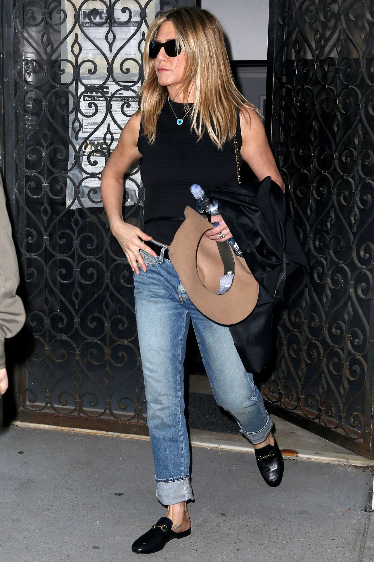 Jennifer Aniston Street Style Out In New York 09 26 2016