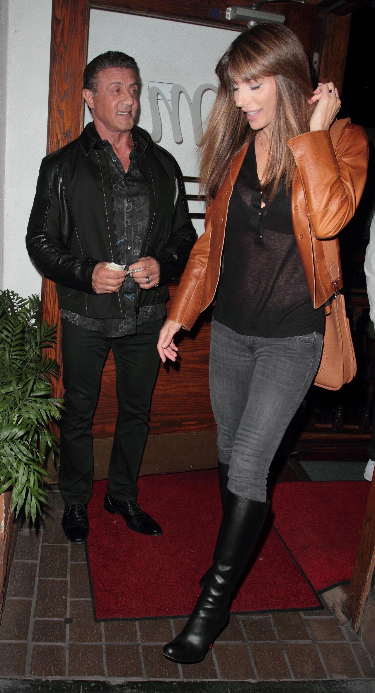 Celebrities-Trands: Jennifer Flavin at Madeo Restaurant in ...