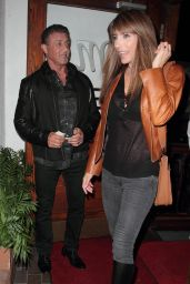 Jennifer Flavin at Madeo Restaurant in Hollywood 9/21/2016