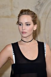Jennifer Lawrence - Christian Dior Show at Paris Fashion Week 9/30/2016