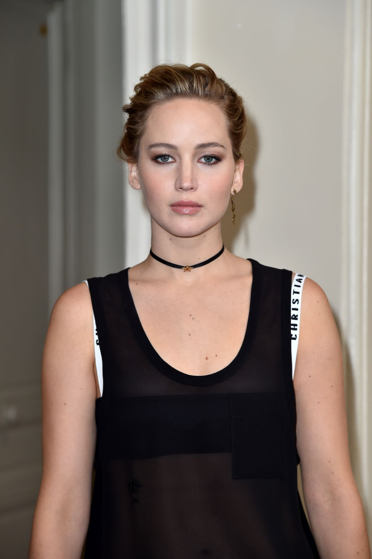 Jennifer Lawrence - Christian Dior Show at Paris Fashion ...
