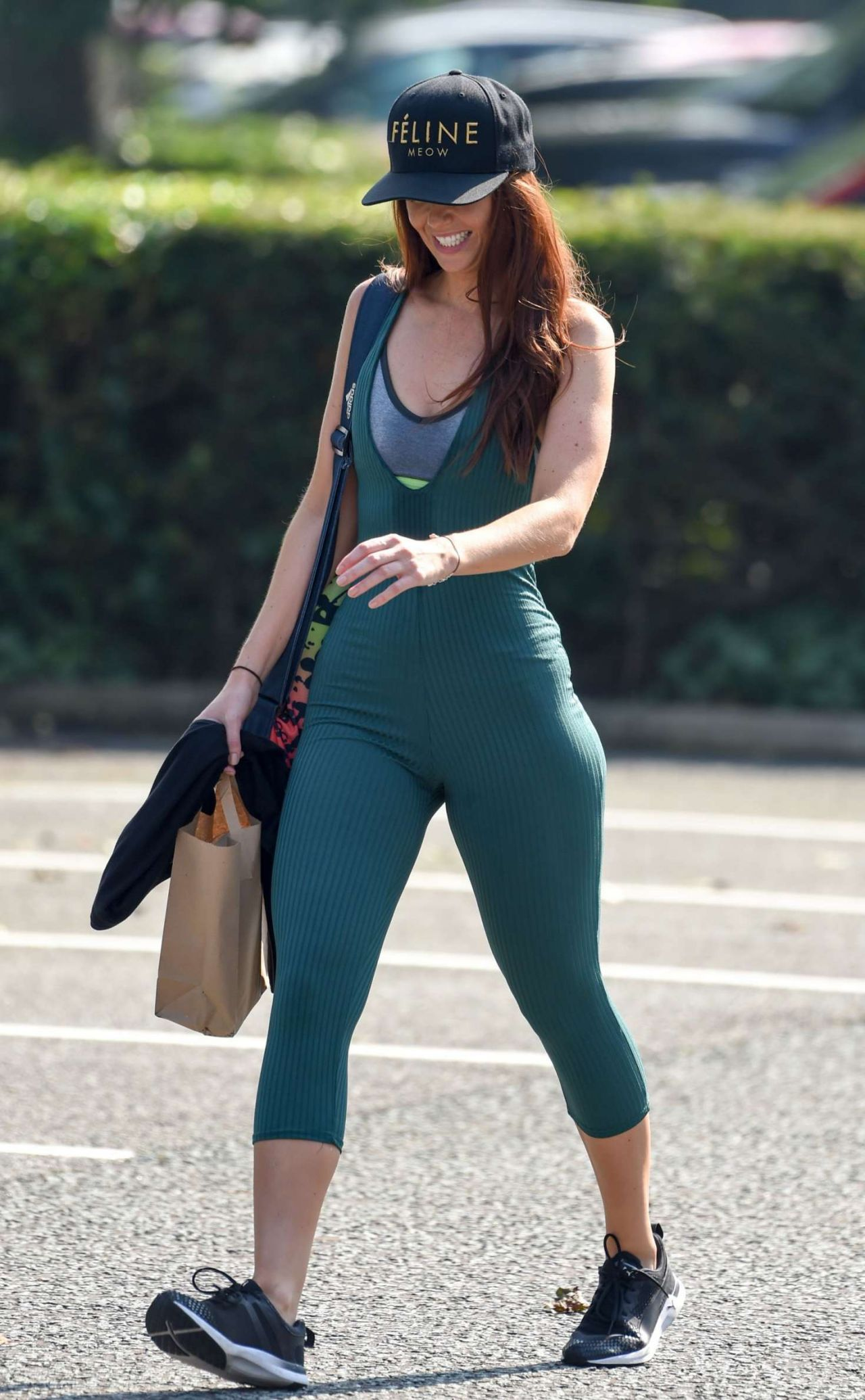 Jennifer Metcalfe In A Body Suit 9  25   2016