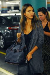 Jessica Alba at a Medical Building in Beverly Hills 9/1/2016