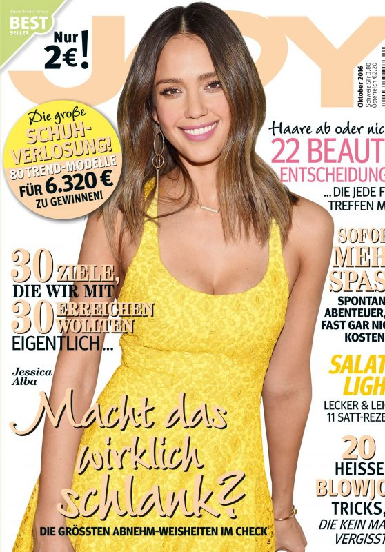 Jessica Alba - JOY Magazine Germany October 2016 Issue