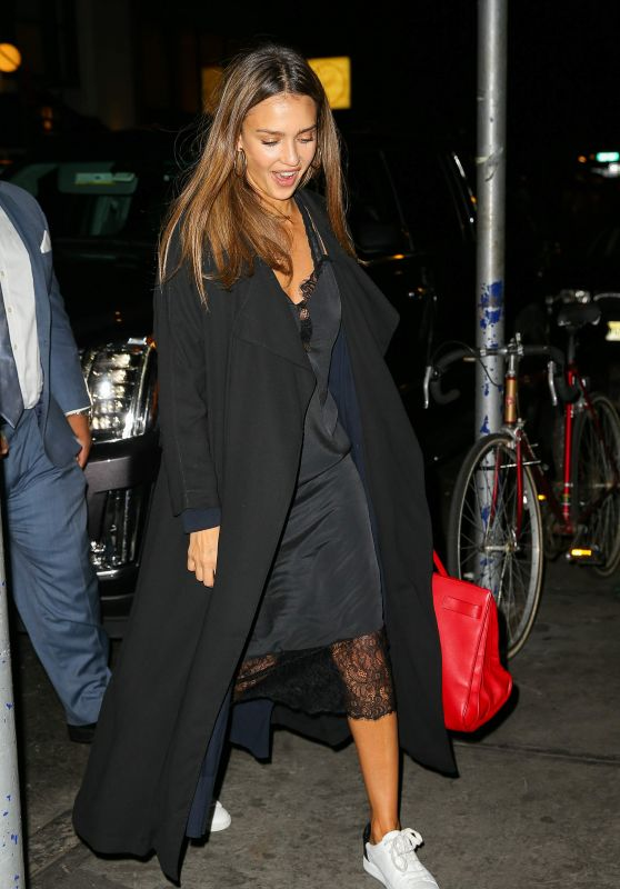 Jessica Alba - Out in NYC, September 2016