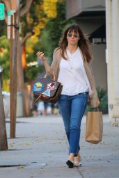Jessica Biel Casual Style - Out in Los Angeles 9/21/2016