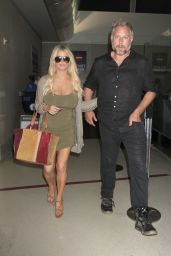 Jessica Simpson at LAX Airport in Los Angeles 9/25/ 2016